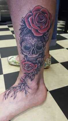 #hearts&roses #tattoo