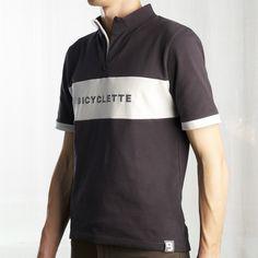 Le Gitan. Bicyclette urban cycle shirt dedicated to Roger De Vlaeminck.