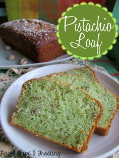 Pistachio Loaf