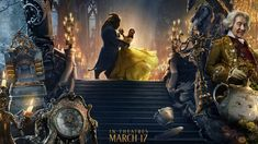 Beautifully Cool New Banner for Disney's BEAUTY AND THE BEAST Combines All the Characters and Settings — GeekTyrant