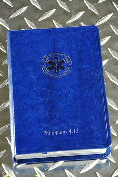 Emergency Medical Services EMS's Bible-CSB-Royal Blue