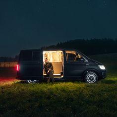 Custombus camper van by Nils Holger Moormaan. German designer Nils Holger Moormann has transformed a Volkswagen T6 bus into a mobile home away from home.