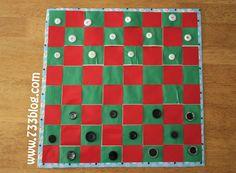 DIY Duct Tape Checker Board