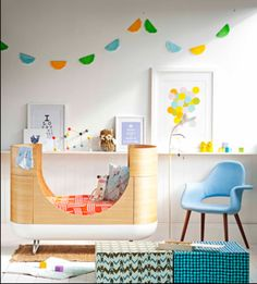 Bright and modern nursery