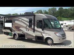 Lichtsinn.com - New 2013 Winnebago Via 25T Motor Home Class A - Diesel