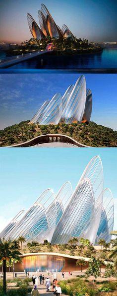 Futuristic architecture: Zayed National Museum