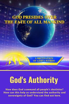 How does God command all people's destinies? How can this help us understand the authority and sovereignty of God? You can find out here. #Knowing_God #knowing_Jesus_Christ #God_rules #God's_Authority #fate_of_mankind #God's_power #Words_of_God #God's_Words