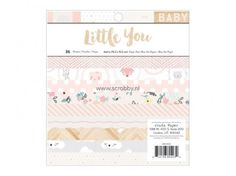 Pack de Papel 15x15 Little You Girl