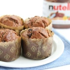 Nutella Muffins: because it's the right thing to do