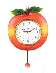 Image result for peach clock