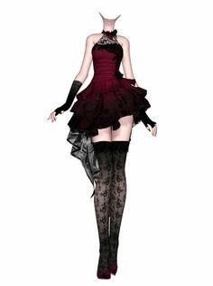 Evil dress