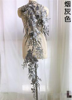 Beaded Wedding Gowns, Bridal Gowns, Wedding Dresses, Long Sleeve Evening Gowns, Beauty Salon Decor, Sewing Studio, Embroidery Patches, Embroidery Applique, Pearl Beads