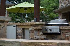 Outdoor kitchen!