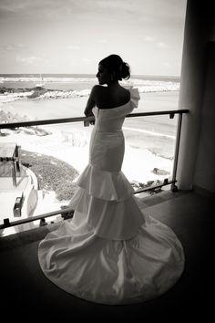 Beach Wedding Photos - My Wedding Dress / Gown
