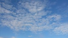 Clouds curled...