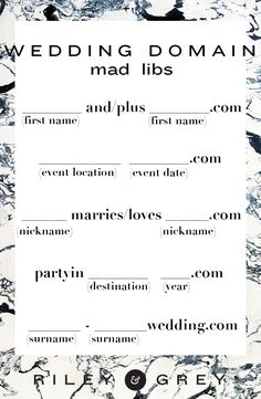 Wedding Website Domain Dos Don Ts Page 4 Of