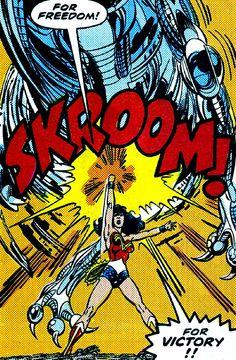 Freedom & victory. —Legends #6 (1987) script by John Ostrander & Len Wein, art by John Byrne & Karl Kesel