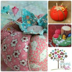 Pin Cushion Crush- includes how to patterns