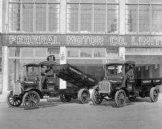 San francisco 1919 federal truck breuner 39 s furniture for British motor cars san francisco