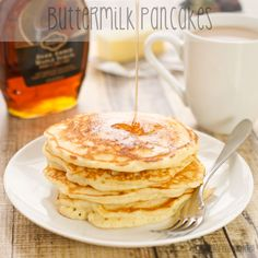 Buttermilk Pancakes {Sweet Pea's Kitchen}