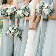 Show Me Your Mumu Silver Sage Bridesmaids Dresses