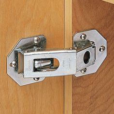 A lot of factors go into choosing for cabinet door hinges. There's also a hinge that will work for every possible cabinet door scenario you could imagine. Kitchen Cabinets Door Hinges, Diy Cabinet Doors, Diy Cabinets, Cupboards, Hidden Hinges, Hidden Doors, Invisible Hinges, European Hinges, Cabinet Trim