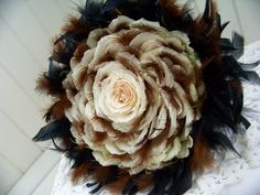 Rose and feather glamelia - glameliros+052.JPG (1306×980) #glamelia #compositebouquet