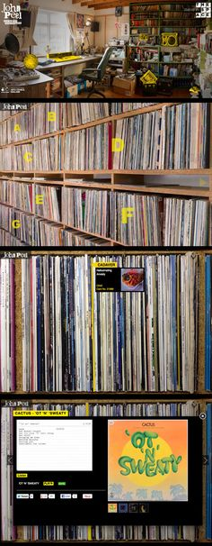 John Peel's records collection