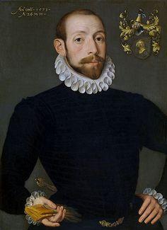 Pieter Pourbus, Porträt des Olivier Nieulant