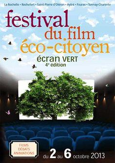 Festival du film Eco-citoyen. Du 2 au 6 octobre 2013 à La Rochelle.