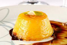 Pudim de laranja, sobremesa do restaurante Trindade (Foto: Mauro Holanda / Divulgação)