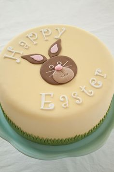 One Easter cake, three designs, part 3 on http://cakejournal.com/tutorials/one-easter-cake-three-designs-part-3/