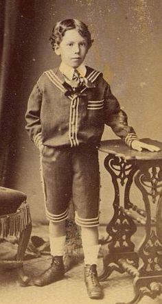 Edwardian schoolboy