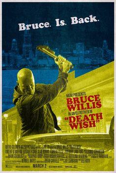 虎膽追兇/猛龍怪客(Death Wish)poster