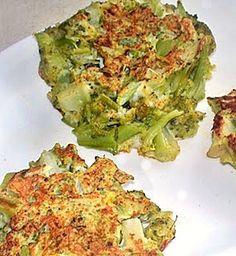 Broccoli Fritters {sure to be a good side dish}