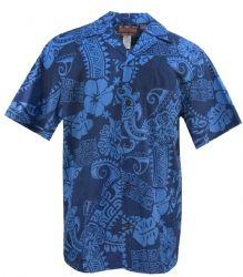Honu Hibiscus Mens Hawaiian Aloha Shirt in Navy Hawaii Shirts, Mens Hawaiian Shirts, Paradise Clothing, Aloha Shirt, Beach Houses, Clothing Co, Hibiscus, Shirt Outfit, Oc