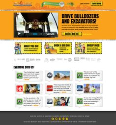Dig This Las Vegas ~ site design by Colomark Media. Clear call-to-action and streamlined layout.  #websitedesign #marketing #salesfunnel