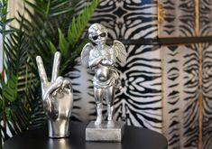 Quirky Decor, Unique Home Decor, Black Sunglasses, Cherub, Door Handles, Lion Sculpture, Statue, Cool Stuff, Retro