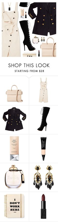 """""""#1118 Wake Me Up (feat. Lil Kim), Remy Ma"""" by blendasantos ❤ liked on Polyvore featuring Givenchy, Altuzarra, Chanel, WithChic, Coach, Gucci, ban.do and David Yurman"""
