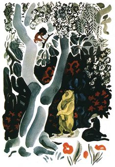 Май Петрович Митурич (1925-2008гг). Иллюстрации. - Журнал обо всём
