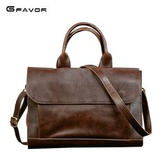 Color : Yellow Crystalzhong Mens Laptop Messenger Bag Mens Leather Casual Briefcase Business Bag Top Layer Leather Handbag Utilities Retro Diagonal Shoulder Bag for Work and School