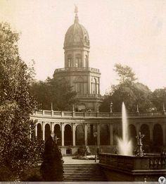 Wzgórze Partyzantów w latach osiemdziesiątych XIX wieku Vintage Architecture, Old Pictures, Homeland, Taj Mahal, The Past, Germany, City, Building, Places