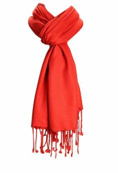 Amtal Large Pashmina Soft Scarf Cashmere Shawl Wrap Stole in Solid Colors - Orange Fall Scarves, Red Scarves, Sherlock Scarf, Red Shawl, Mens Cashmere Scarf, Pashmina Scarf, Square Scarf, Womens Scarves, Picsart Background