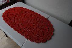 Receita do tapete de barbante nº 3 da artesã Luiza de Lugh - https://www.youtube.com/user/agulhaitaliana/videos