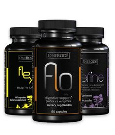 Flex Flo Define Bundle. Help your joins, digestion and appetite with these 3 new supplements.