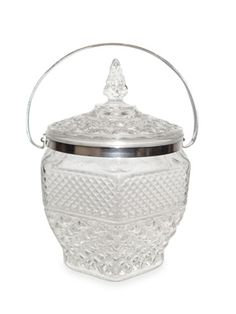 Crystal Ice Buckets    http://www.countryliving.com/antiques/ice-buckets-1210#slide-1