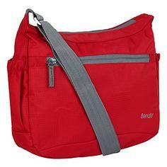 Bendly Unisex-Adult Sling Bag(Red,8903523699268)