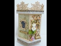 Off the page:DIY:Altered carousel by Sa Crafters