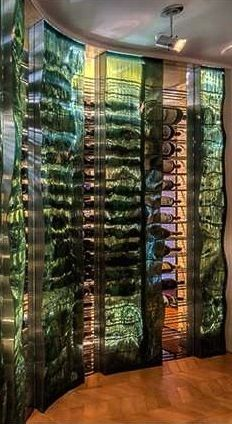 Glass Encased Wine Storage ~ Cynthia Reccord