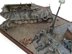 Near Caen and running out of ammo | Scale model | Diorama | Vignettes